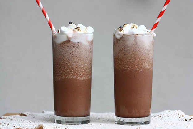 Drink frozen hot chocolate. | 60  Things You Absolutely Have To Do This Summer