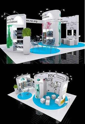 Exhibition Stand Design - from Quadrant2Design.Com