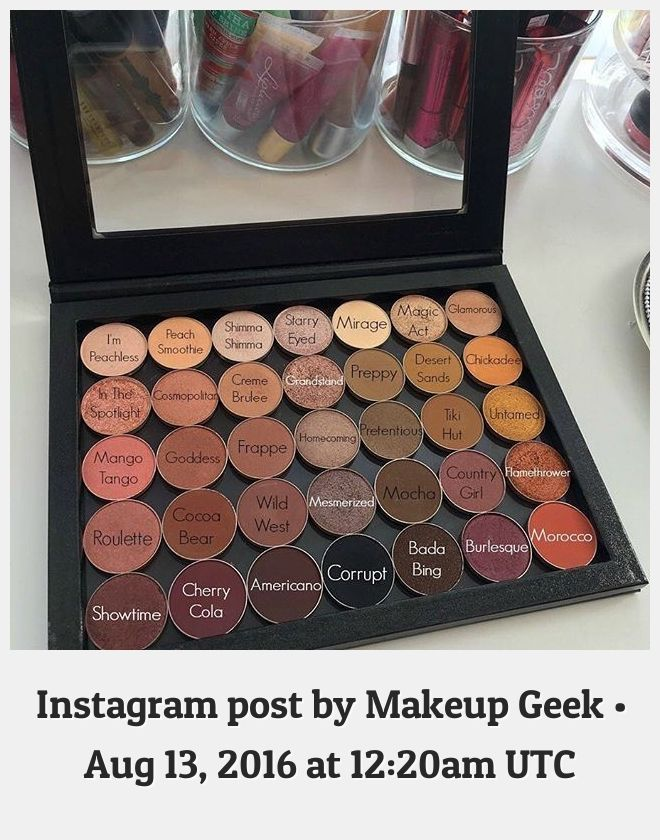 Makeup Geek 13631 This Palette Could Be Yours Shop These Shades Now Via The Link In Our Bio Thanks S0phi4beauty Twitter In 2020 Makeup Geek Geek Stuff Mocha Girls