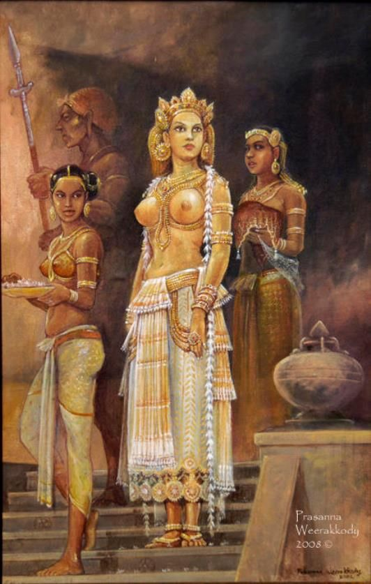 Sri Lanka princess, by Prasanna Weerakkody