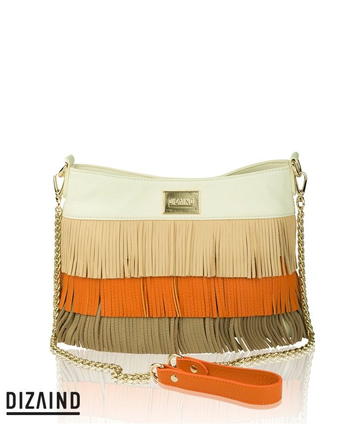 LUCIE – FRINGE YOUR STYLE The fringed bag is the one every stylish woman should have in her wardrobe. #fringebag #custommade #dizaind