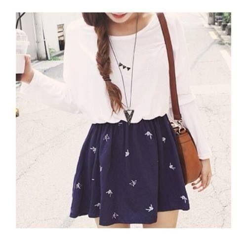 Cute outfit (: Teen fashion ☮