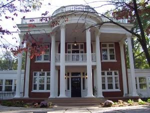 Old Southern Plantation with Massive Greek revival columns