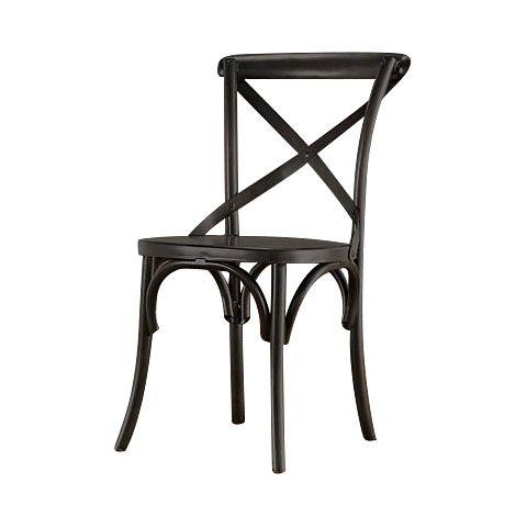 Метки: Венские стулья, Кухонные стулья.              Материал: Дерево.              Бренд: RESTORATION HARDWARE.              Стили: Лофт, Прованс и кантри.              Цвета: Черный.