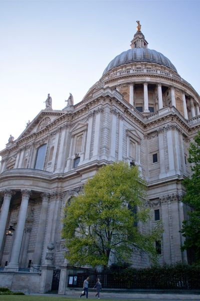 St. Paul's Cathedral in London is simply breathtaking, especially now that the scaffolding has been removed, after 15 years of major restoration work.