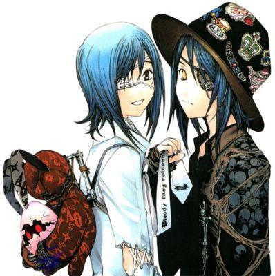 Akito and agito:)