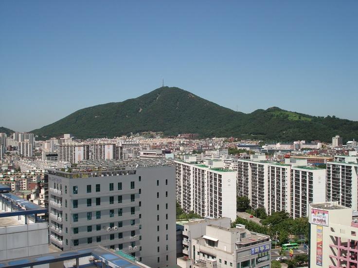 rooftop view of Incheon
