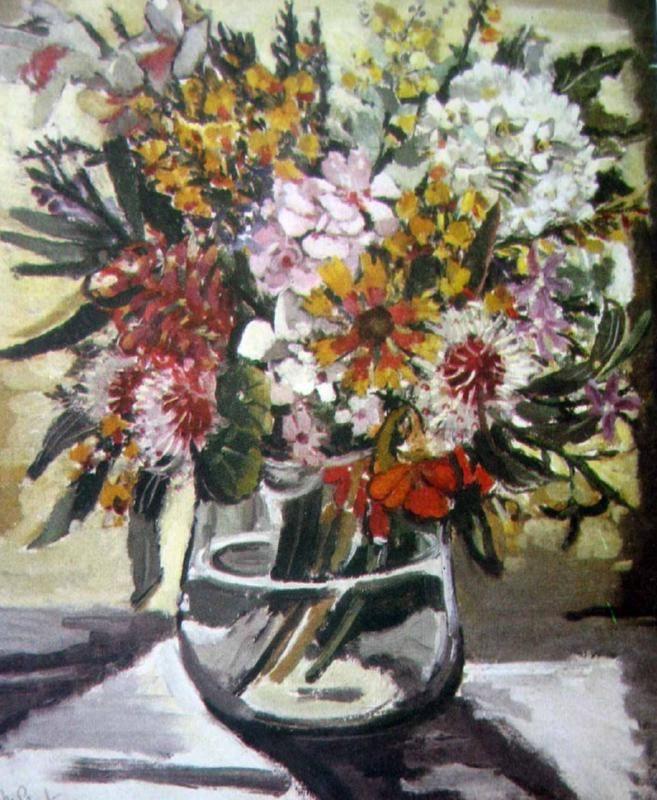Margaret Preston Bush Flowers