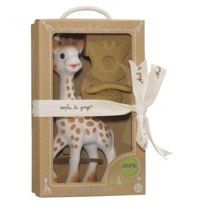 Soothe your teething baby with this giraffe teether
