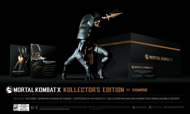 Mortal Kombat X édition collector by Coarse - XBOX ONE - Acheter vendre sur Référence Gaming
