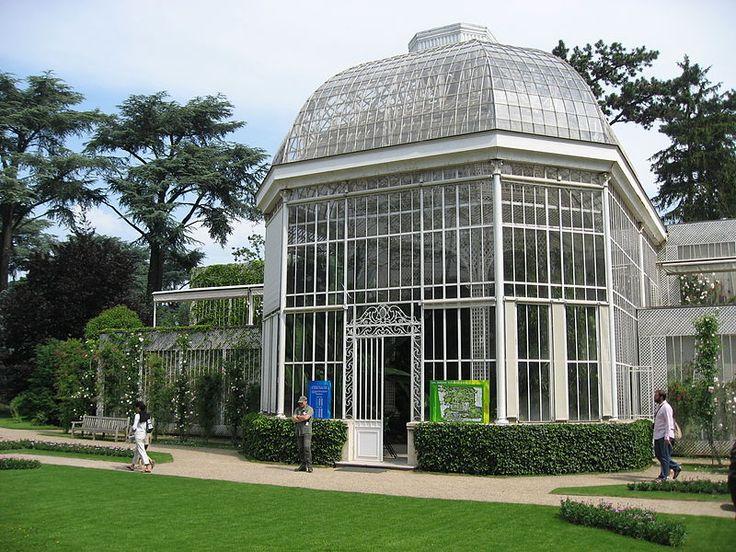 Jardin du Musée Albert-Kahn. Le palmarium