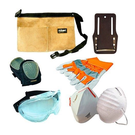 Ensure you're dressed for the job with our Workwear Bundle. This kit would also make the perfect #christmasgift for the DIYer or hard worker in your life. 25.00. Contains:  Heavy Duty Rigger #Gloves Pair Reflective Disposable #Dust #Masks Not FFP rated (4 Pack) #RespiratorMask with Valve Rated FFP3 Fine Toxic Dust #SafetyGoggles Wide Vision Anti-Scratch Professional Gel #KneePads Pair with Breathable Straps Leather #NailPouch Double Pocket Leather #Hammer Holder Oil Tanned with Fixed Loop…