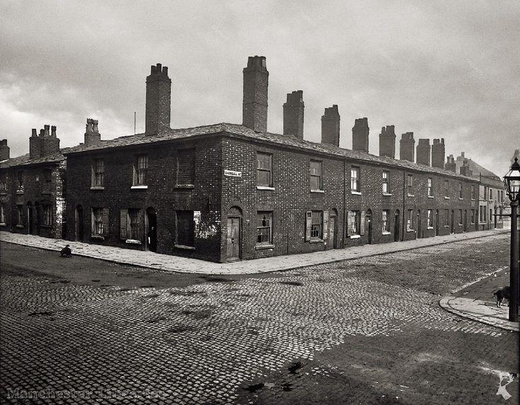 Corner of Marshall Street and Chadderton Street 1906