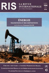 Energie : transitions et recompositions |  341.55 HAC