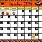 October Calendar has more than 70 pages packed full of skills to review first grade skills. Includes calendar, weather graph, tally marks, nouns &a...