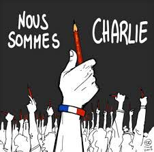 Nous sommes Charlie.  Carlie Hebdo