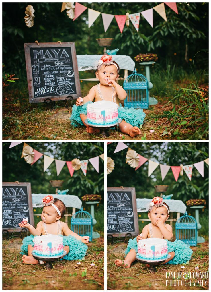 Taylor Howard Photography - outdoor cake smash
