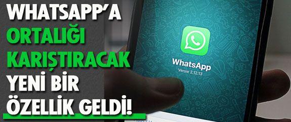 Whatsap'ın bu kez gelen yeniliği grup sohbetleri hakkında. Peki ne değişti? İşte fark edilen o detay...