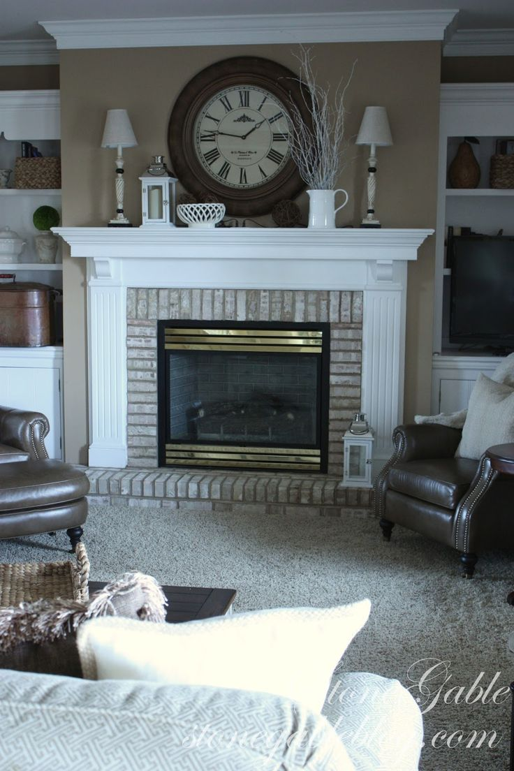 Walking with dancers the family room s fireplace update - Find This Pin And More On Fireplace Inspiration And Decor