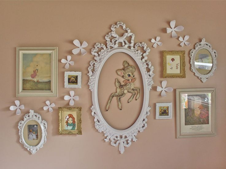 Image result for girls gallery wall