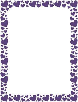 Purple Heart Border