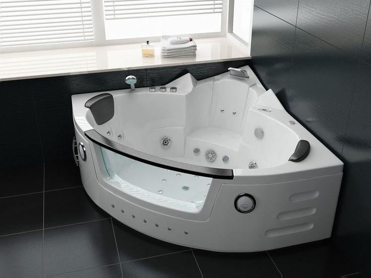 Whirlpool WP-001 140x140cm Eck Badewanne Wanne Jacuzzi Pool Spa Heizung Acryl | Heimwerker, Bad & Küche, Indoor Whirlpools & -wannen | eBay!