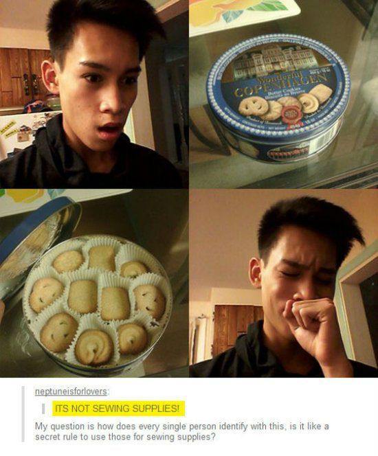 its not sewing supplies