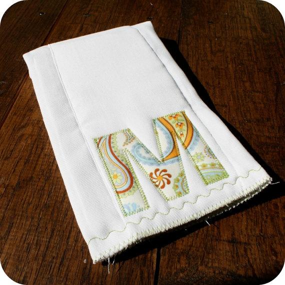 Simply cute burp cloth...