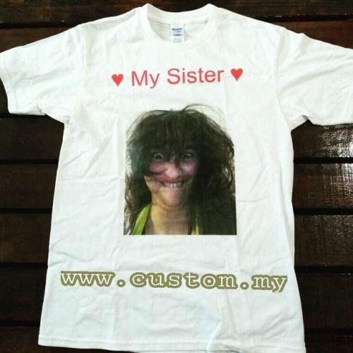 Suka bergaya dengan baju T-shirt atau ingin beri hadiah pada...