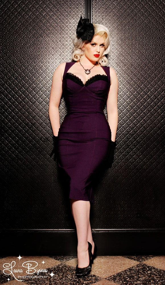 Masuimi Dress in Deep Plum $98. If I could, I'd buy every dress on this site.