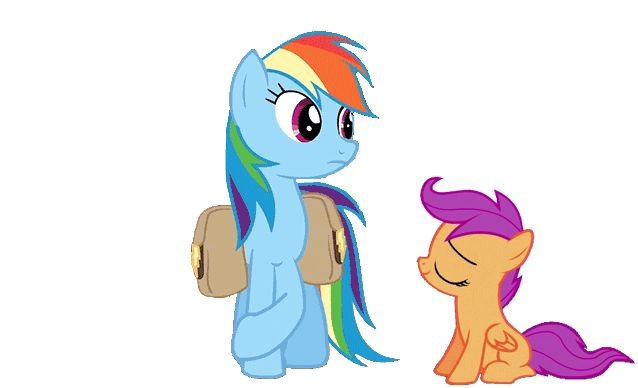 Rainbow Dash and Scootaloo | 2577.Rainbow-Dash-and-Scootaloo.gif