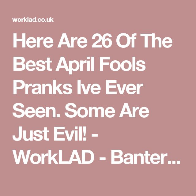 Best Best April Fools Ideas On Pinterest Best April Fools - 53 hilarious april fools pranks took game another level 6 just brilliant