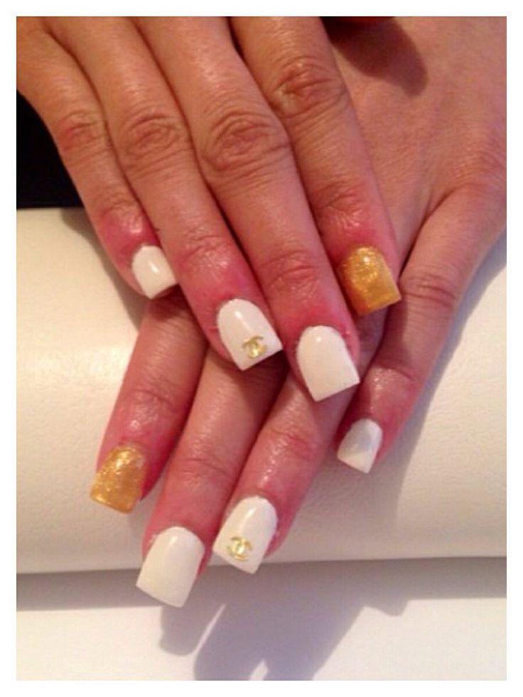 Chanel #chanel #gelnails #pretty #nailsbyme