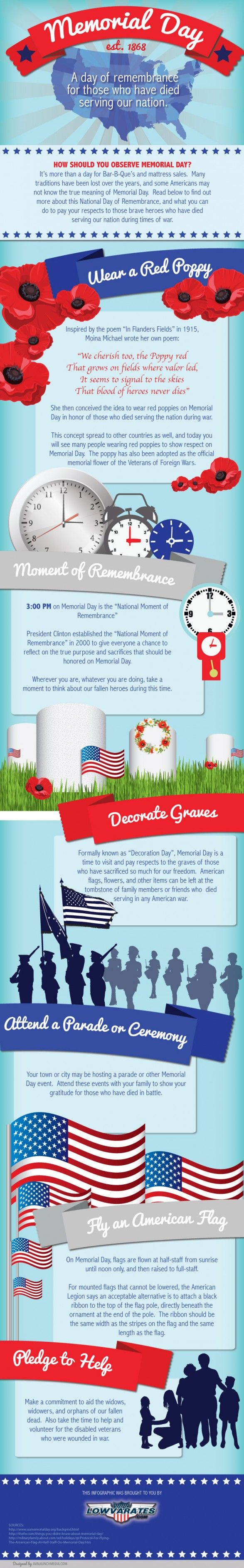 Memorial Day Quotes And Infographic: A Day Of Remembrance
