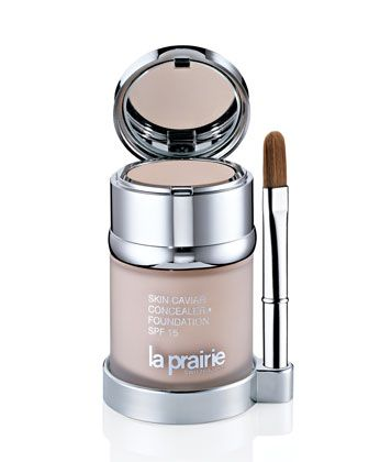 La Prairie Skin Caviar Concealer Foundation SPF 15 - Would love to afford this all the time! It's amazing stuff!