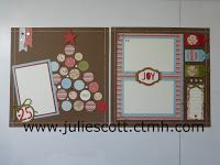 Food, Crafts, and More! White Pines. Christmas Layout. Artistry Cricut Cartridge
