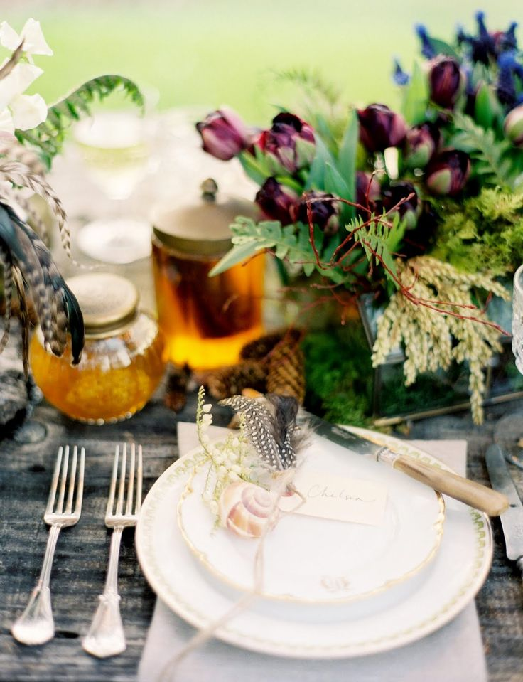 Rustic Glam table photo by Jose Villa