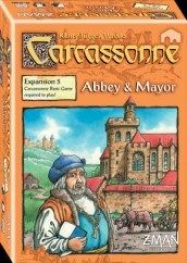 Carcassonne Board Game Expansion: Abbey And Mayor Details and Review