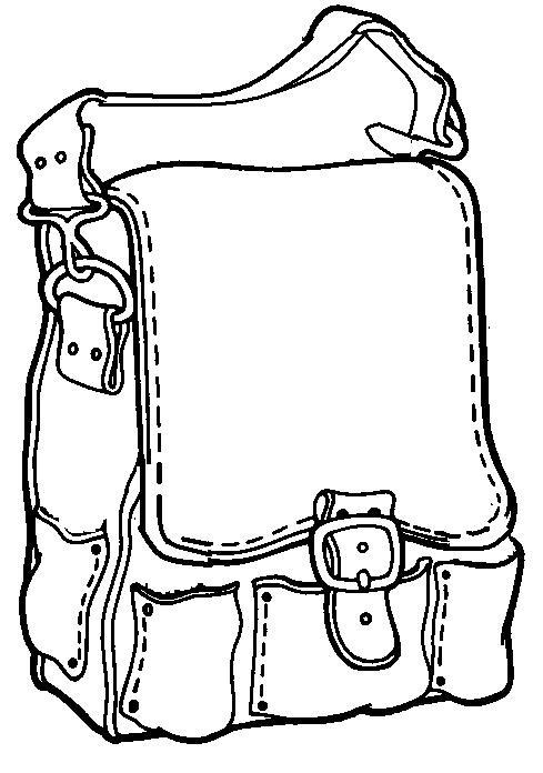 Teken in de rugzak alles wat olifant vergeten was