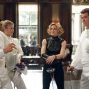 Toby Stephens as Graves, Rosamund Pike as Miranda Frost, Madonna as Verity and Pierce Brosnan as Bond in MGM's Die Another Day - 2002 | Toby Stephens Picture #12005098 - 454 x 302 - FanPix.Net