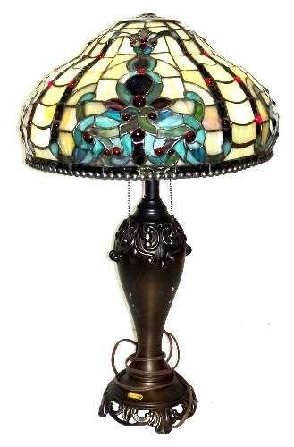 Stunning Dale Tiffany Antiques Roadshow Lamp Thrift
