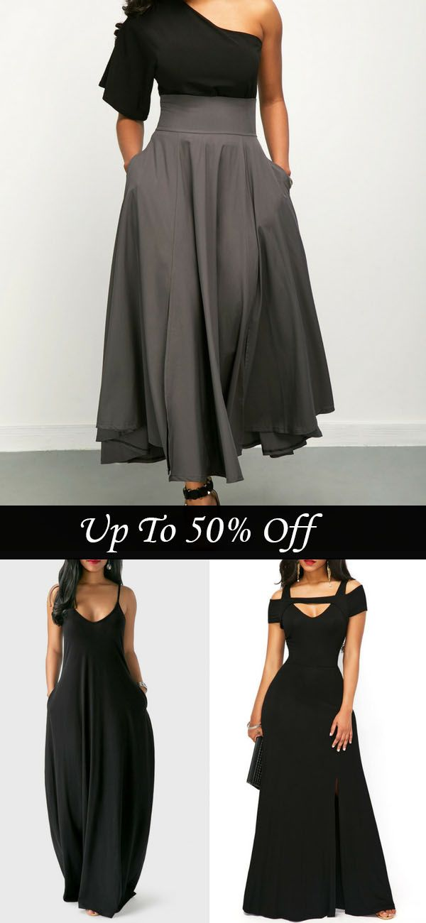 black maxi dresses, i love it! do you think so? don't miss them again.