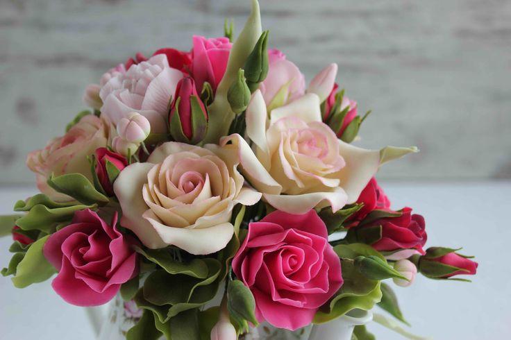 https://flic.kr/p/qZab7L | Sugar rose bouquet