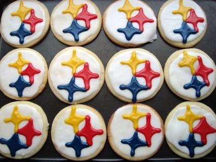 Pittsburgh Steelers Cookies