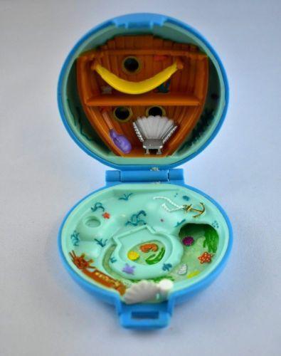Polly-Pocket-mini-BLUEBIRD-VINTAGE-1992-juweled-Sea-Bijou-Mer