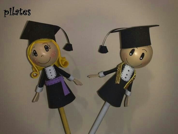 Fofulapiz graduados | fofuchas | Pinterest