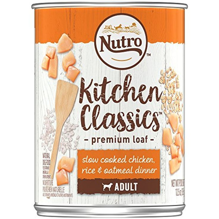 Nutro adult kitchen classics slow cooked chicken rice