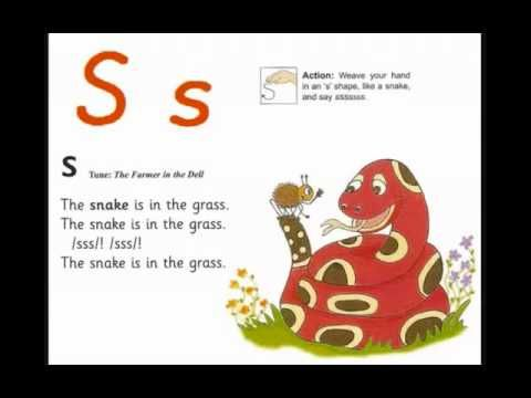 Letter S_Jolly Phonics song