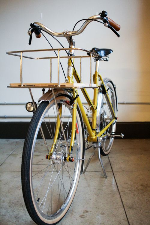 Handmade Bicycle Baskets : Images about on pedals fixie cycling