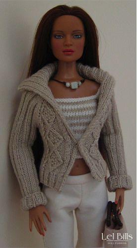 Tonner Jon | Perfect Morning Jonquil Aran style jacket knit… | Flickr - Photo Sharing!